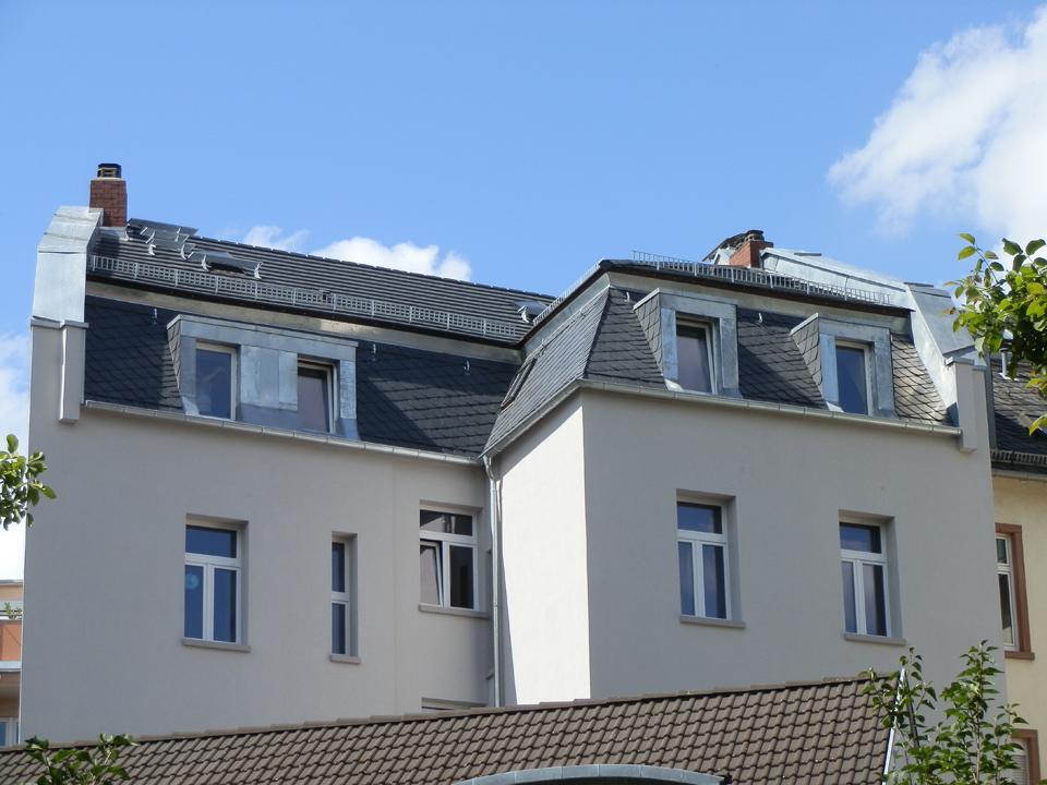 Tonziegeldach, Frankfurt /Main