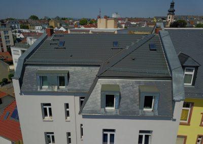 Mauerabdeckungen Gaubenverkleidung – Frankfurt-Bornheim