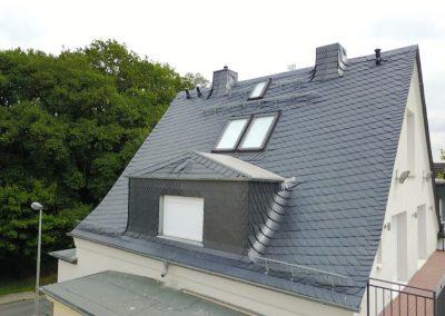 Naturschiefereindeckung – Königstein