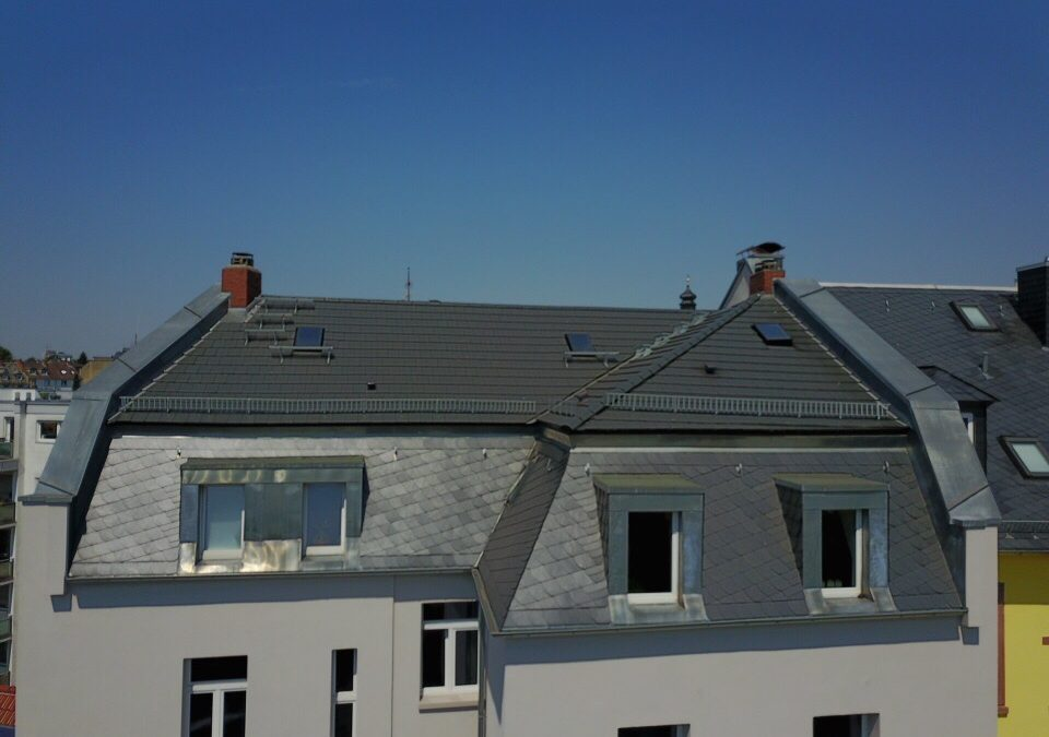 Tonziegelsanierung – Frankfurt-Bornheim
